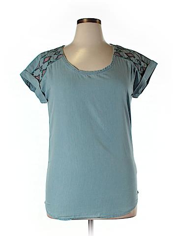 Roxy Short Sleeve Blouse Size XL