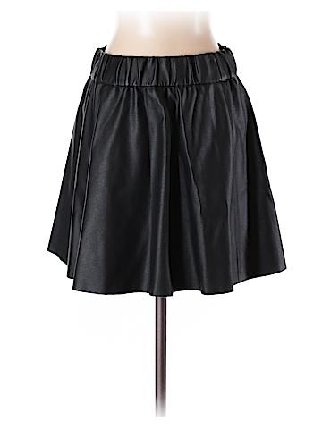 Club Monaco Faux Leather Skirt Size 0