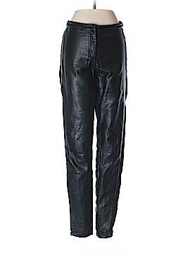 H&M Faux Leather Pants Size 4