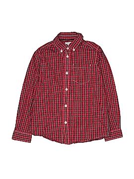 Greendog Long Sleeve Button-Down Shirt Size 7X