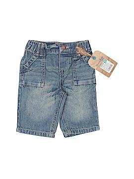 Genuine Kids from Oshkosh Denim Shorts Size 3 mo