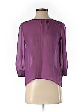 Broadway & Broome 3/4 Sleeve Silk Top Size XS