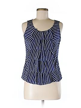 Sine Sleeveless Silk Top Size 2