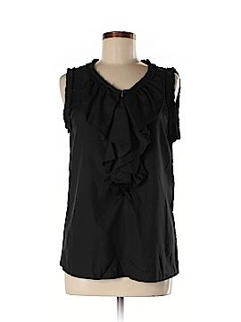 Trinity Sleeveless Silk Top Size M