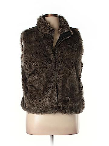 Banana Republic Faux Fur Vest Size XL