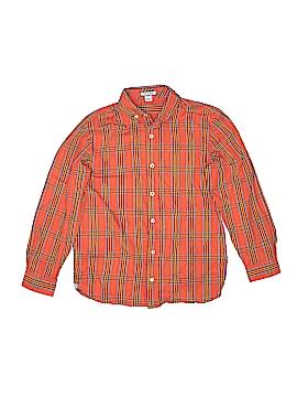 Kitestrings Long Sleeve Button-Down Shirt Size 10