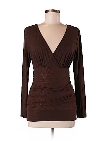 INC International Concepts Women Long Sleeve Top Size M