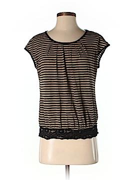 Max Studio Women Short Sleeve Blouse Size S