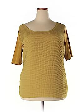 Soft Surroundings Short Sleeve Blouse Size 2X (Plus)