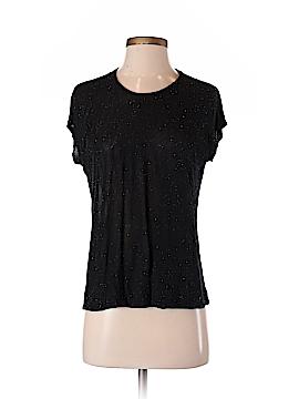 Massimo Dutti Short Sleeve Blouse Size S