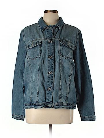 Just Fab Denim Jacket Size L