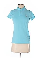 Ralph Lauren Sport Women Short Sleeve Polo Size S