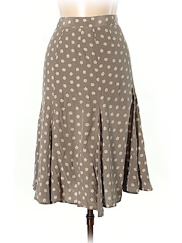 Salvatore Ferragamo Silk Skirt Size 10