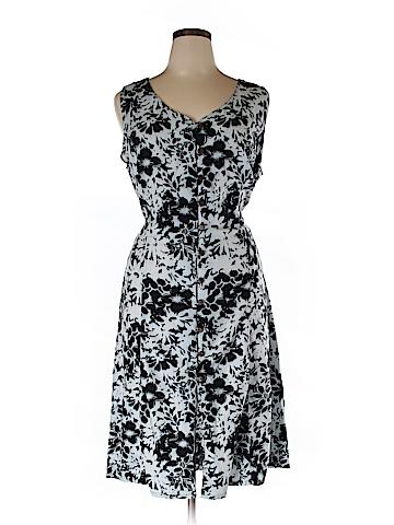 Tiki Palm Casual Dress Size XXL