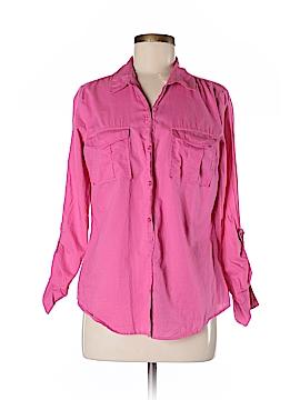 Ann Taylor LOFT Long Sleeve Button-Down Shirt Size M