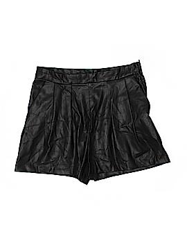 H&M Faux Leather Shorts Size 10