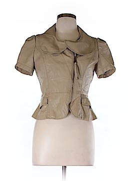 TCEC Women Faux Leather Jacket Size L