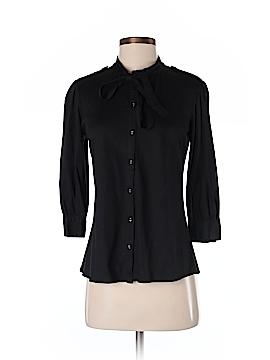 Chaiken Short Sleeve Button-Down Shirt Size S
