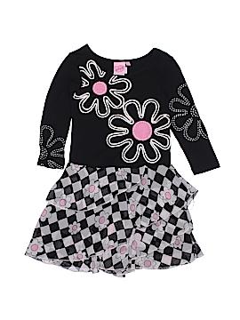 Lipstik Girls Dress Size 2T