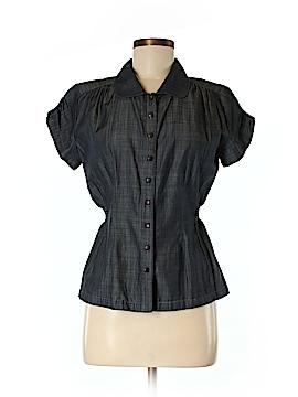 Stewart + Brown Short Sleeve Button-Down Shirt Size M