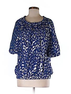 Trina Turk Short Sleeve Blouse Size M