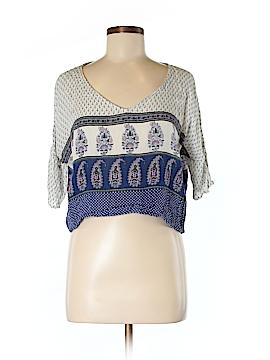 Band of Gypsies Short Sleeve Blouse Size S