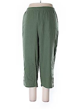 Roaman's Linen Pants Size 20W (Plus)