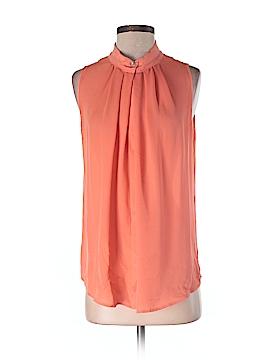 Etcetera Sleeveless Silk Top Size 2