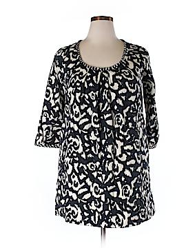 DKNY 3/4 Sleeve Blouse Size XL