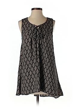 Sun & Shadow Sleeveless Blouse Size S