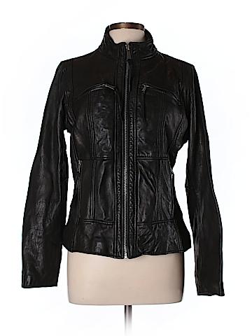 MICHAEL Michael Kors Leather Jacket Size L