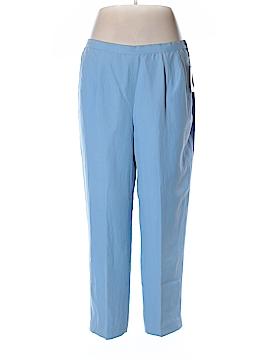 Elisabeth Silk Pants Size 16 (Petite)