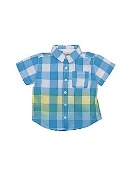 Truly Scrumptious By Heidi Klum Short Sleeve Button-Down Shirt Size 2T