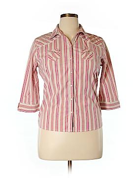 Tilt 3/4 Sleeve Button-Down Shirt Size XL