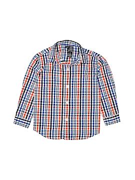 Nautica Long Sleeve Button-Down Shirt Size 4T