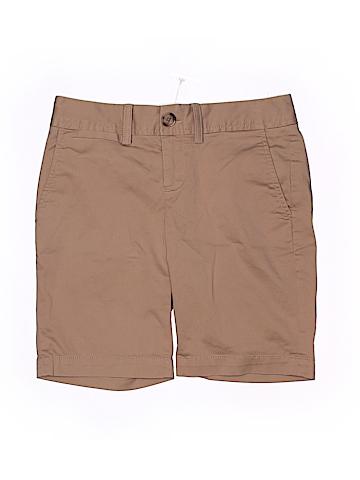 Banana Republic Women Khaki Shorts Size 00 (Petite)
