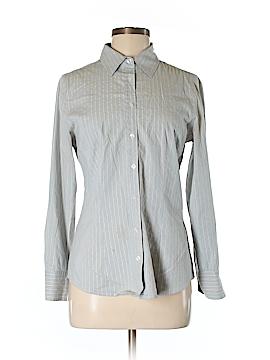Como Long Sleeve Button-Down Shirt Size S