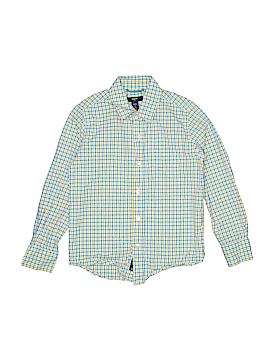 Gap Kids Outlet Long Sleeve Button-Down Shirt Size 6 - 7
