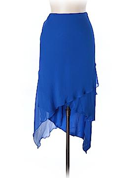 Flores & Flores Silk Skirt Size 10