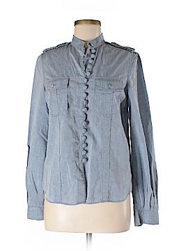 3.1 Phillip Lim Long Sleeve Button-Down Shirt Size 8