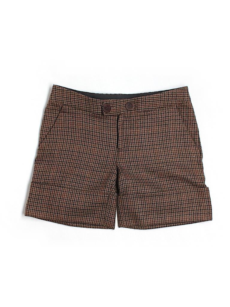 Catherine Malandrino Women Khaki Shorts Size 4