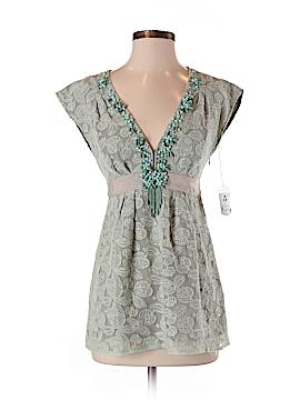 Nanette Lepore Short Sleeve Blouse Size 0