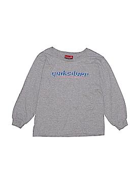 Quiksilver Long Sleeve T-Shirt Size X-Large (Kids)
