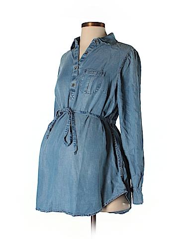 Liz Lange Maternity Long Sleeve Blouse Size S (Maternity)