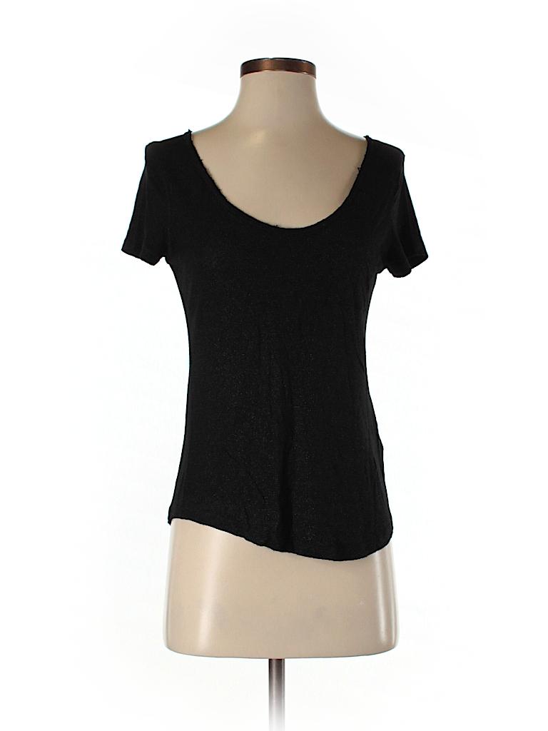rock republic 100 rayon solid black short sleeve t shirt size xs 72 off thredup. Black Bedroom Furniture Sets. Home Design Ideas