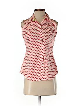 Foxcroft Sleeveless Button-Down Shirt Size 6 (Petite)