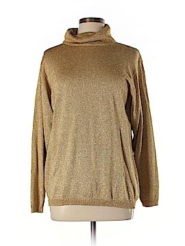 Petite Sophisticate Turtleneck Sweater Size L