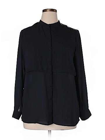J. Crew Long Sleeve Blouse Size 14