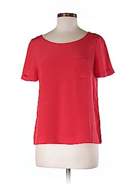 Kate Spade New York Short Sleeve Silk Top Size S