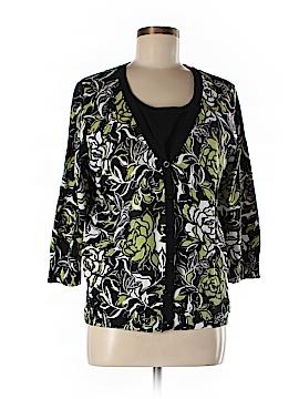 JM Collection Cardigan Size L